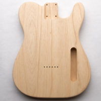 Swamp Ash T-Style Guitar Body – Choose Your Pickups!