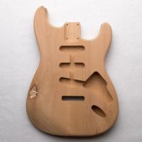 Alder S-Style Guitar Body