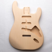 Basswood S-Style Guitar Body