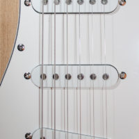Silver S-Style Electric Guitar Kit